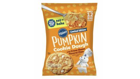 Pillsbury Ready to Bake Pumpkin Cream Cheese Cookie Dough