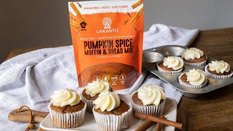 Lakanto Pumpkin Spice Muffin & Bread Mix