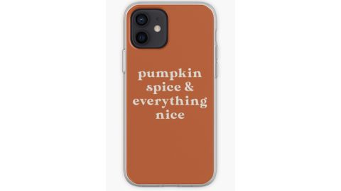 Pumpkin Spice & Everything Nice iPhone Case & Cover