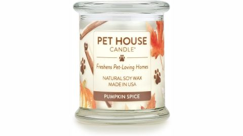 One Fur All 100% Natural Soy Wax Candle, Pumpkin Spice