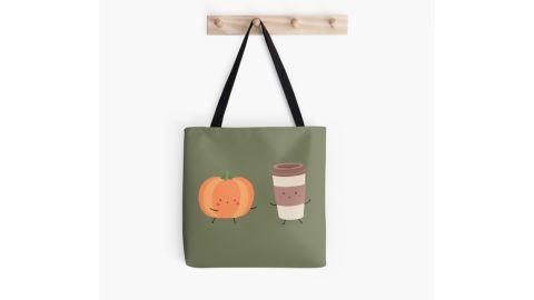 Pumpkin Latte Tote Bag
