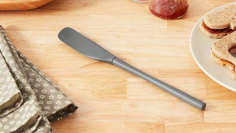 Tovolo Flex-Core All-Silicone Long-Handled Scraper