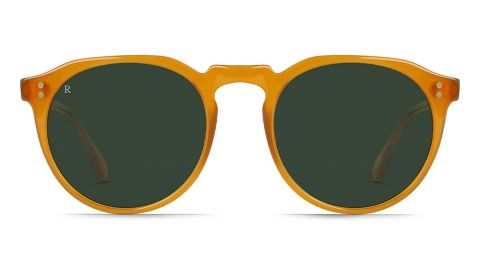 Raen 49mm Polarized Round Sunglasses
