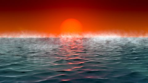 Astronomers have identified a new class of habitable planets, which they call Hycean planets. These are hot, ocean-covered planets with hydrogen-rich atmospheres.