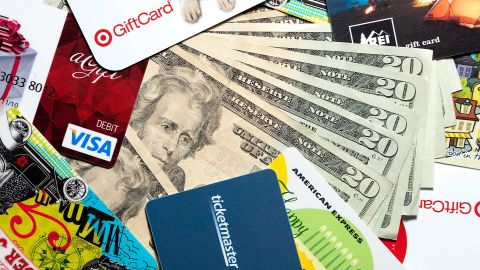 Buy a gift card at a U.S. supermarket with the Blue Cash Preferred card and earn bonus cash back.