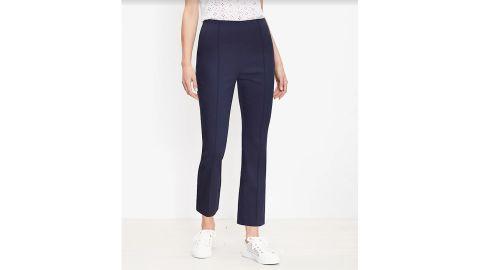 Curvy Side Zip Kick Crop Pants
