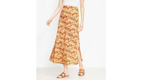 Garden Pull On Midi Skirt
