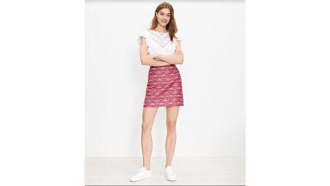 Ikat Jacquard Miniskirt