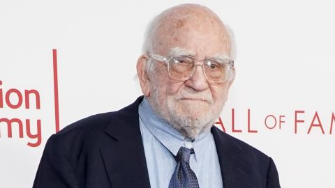 NORTH HOLLYWOOD, CALIFORNIA - JANUARY 28: Ed Asner attends the Television Academy's 25th Hall Of Fame Induction Ceremony at Saban Media Center on January 28, 2020 in North Hollywood, California. (Photo by Rachel Luna/Getty Images)
