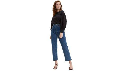 Levi's Women's Premium Ribcage Straight Ankle Jeans
