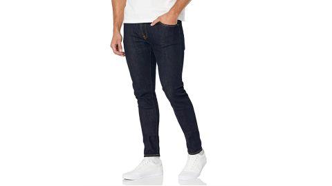 Nudie Jeans Men's Skinny Lin Rinse Selvage