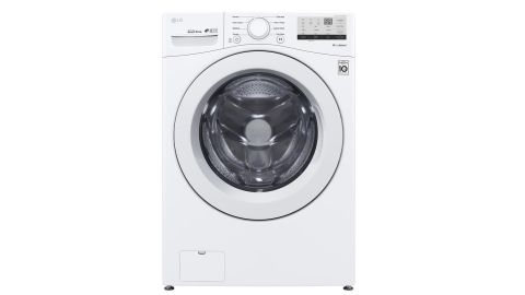 LG Electronics Ultra-Large-Capacity Front-Load Washing Machine With Coldwash Technology
