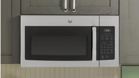 GE Over-the-Range Microwave in Stainless Stee