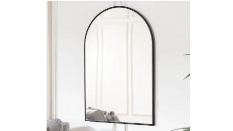 Home Decorators Collection Medium Arched Black Classic Accent Mirror