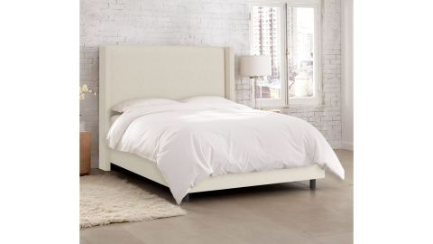 Amera Upholstered Low-Profile Standard Bed