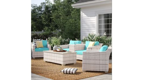 Sol 72 Outdoor Falmouth Seating Group With Cushions