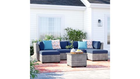 Sol 72 Outdoor Merlyn Seating Group With Cushions