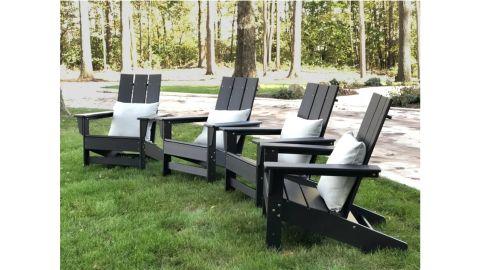 Wade Logan Aviana Adirondack Chairs, Set of 4
