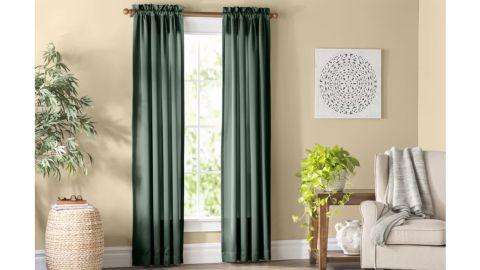 Wayfair Basics Solid Color Room Darkening Single Curtain Panel