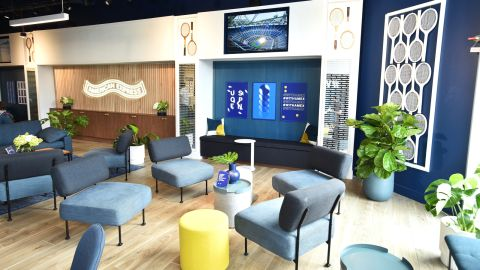You don't need a pricey Amex Platinum card to gain entry into the separate Card Member Lounge at the US Open.