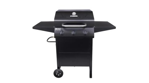 American Gourmet Black 3-Burner Liquid Propane Gas Grill