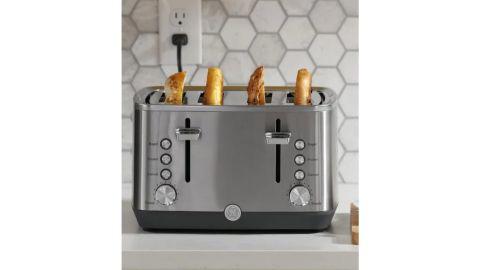 GE 4-Slice Stainless Steel Toaster