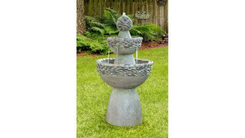 Teamson Clay Waterfall Fountain