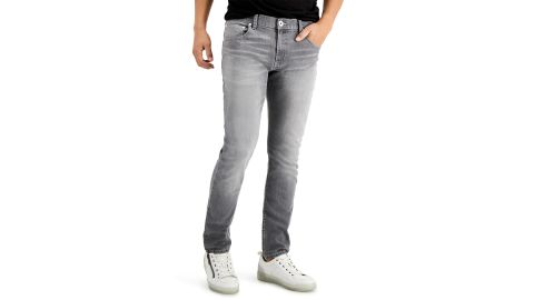 INC International Concepts Men's Gray Skinny Jeans