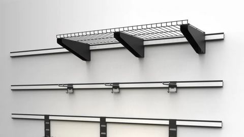 Husky 84-Inch Wall Track System