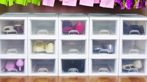 Sterilite Stackable Storage Drawers, 6-Pack