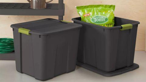 Sterilite 20-Gallon Latching Storage Bin