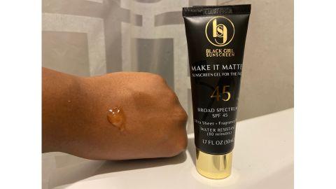 Black Girl Sunscreen Make It Matte Sunscreen