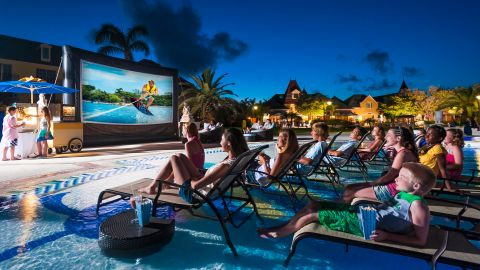 There are always plenty of outdoor activities for families at the Beaches Turks & Caicos resort.