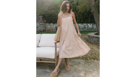 Seersucker Summer Dress