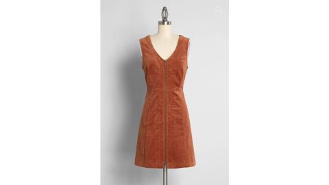 Modcloth x Princess Highway Corduroy Mini Dress
