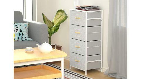 Romoon 4-Drawer Fabric Dresser
