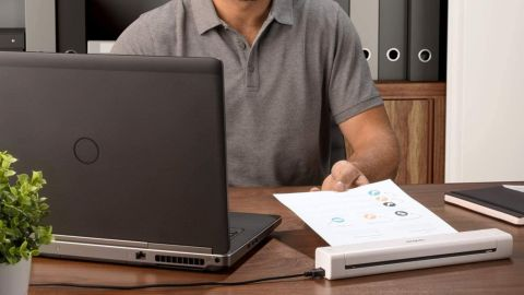 Brother Compact Mobile Document Scanner