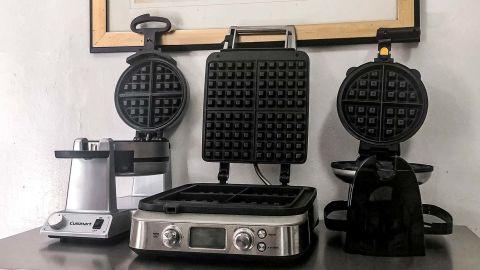 Best waffle makers of 2021: Cuisinart Double Belgian, Breville Smart Waffle Pro and Hamilton Beach Flip