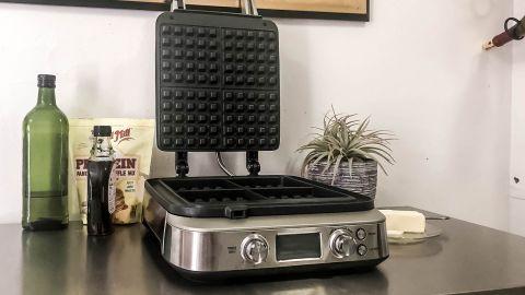 Breville Smart Waffle Pro 4-Slice Waffle Maker