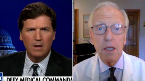Tucker Carlson Dr. Schaffner split vpx