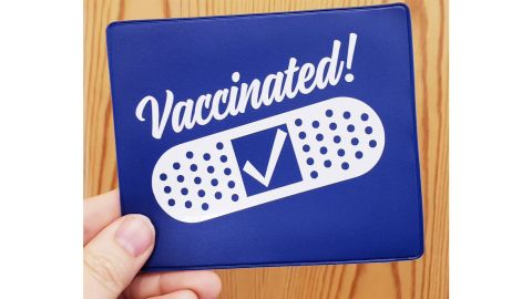 FairyDustDecals Covid-19 Vaccine Card Protective Sleeve