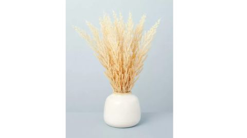 Hearth & Hand with Magnolia 17.5-Inch Faux Wheat Grass Foliage Potted Plant