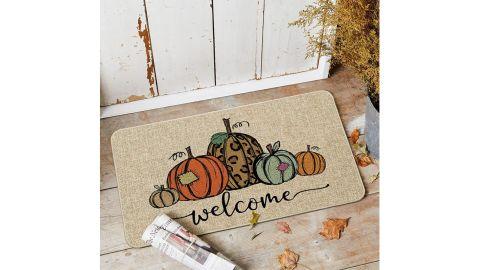 Artoid Mode Pumpkin Welcome Decorative Doormat