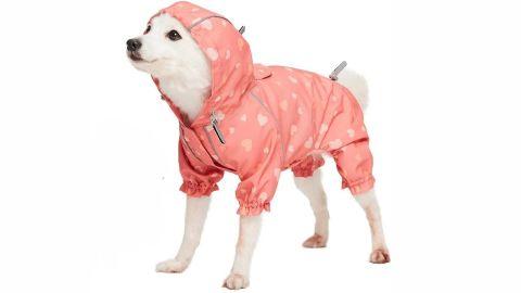 Blueberry Pet Lightweight Reflective Dog Raincoat