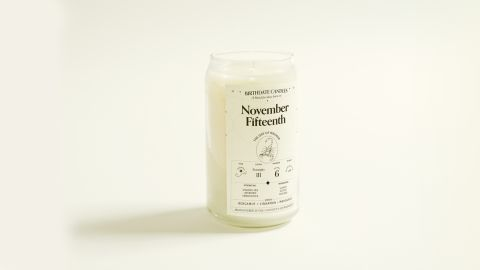 The Birthdate Candle