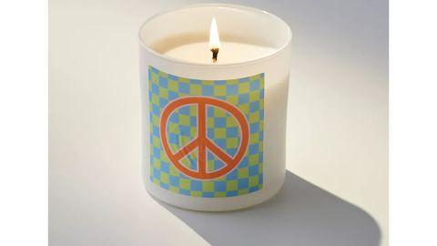 Wild Rose Shop & Studio Checkerboard Candle