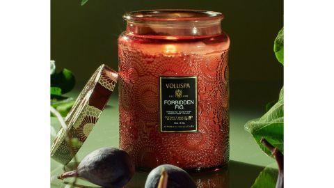 Voluspa Forbidden Fig Large Jar Candle