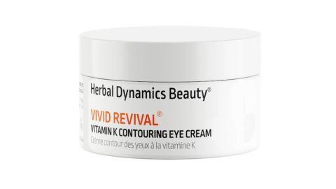 Herbal Dynamics Beauty vivid renewal eye cream.