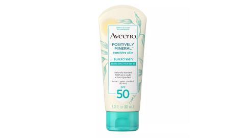 Aveeno Mineral Sensitive Skin Sunscreen