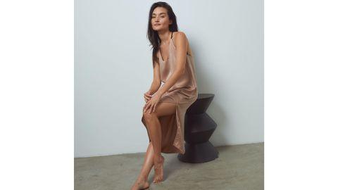 Washable Silk Slip Dress